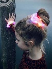 Scrunchie met ledlight Pink