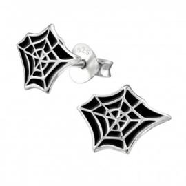 Oorbellen Spinnenweb