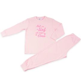 Pyjama Net zo lief als Oma Roze