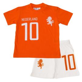 Shortama Nederlands elftal wit