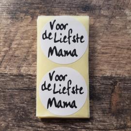 Sticker Voor de liefste Mama