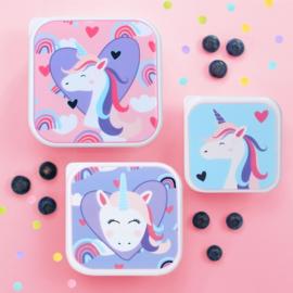 Lunchbox 3 in 1 Unicorn