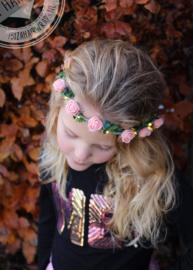 Led haarband licht Roze