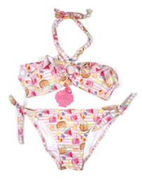 Bikini Zomerfruit wit