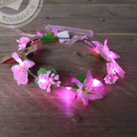 Led haarband Roze