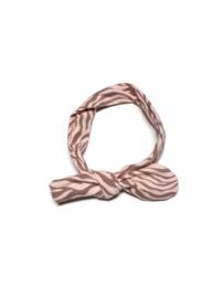 Handmade Haarband Zebra Roze