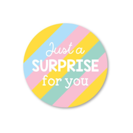 Sticker Just a Surprise for you