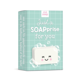 Zeep Just a SOAPrise for you