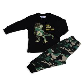 Pyjama Dinosaur Black