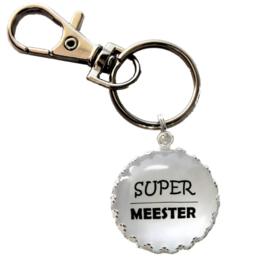 Sleutelhanger Super Meester
