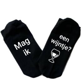 Sokken Mag ik een wijntje?