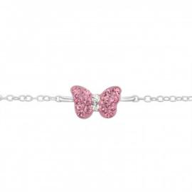 Kinderarmband Vlinder