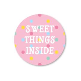 Sticker Sweet Things Inside
