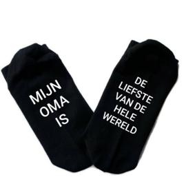 Sokken Oma is de liefste van de hele wereld