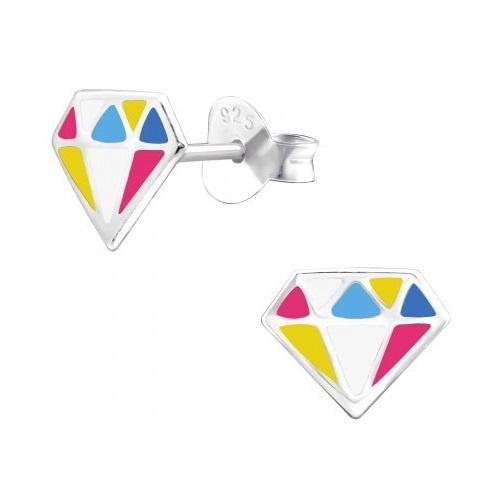 Kinderoorbel Regenboog Diamant