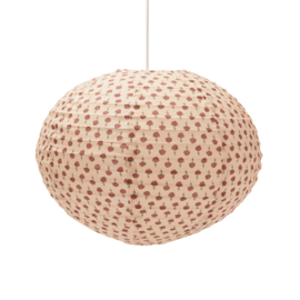 KONGES SLOJD SMALL PENDANT LAMP POPPYFLOWER RED