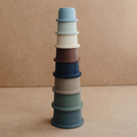MUSHIE STACKING CUPS FOREST