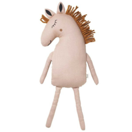 FERM LIVING SAFARI HORSE CUSHION ROZE