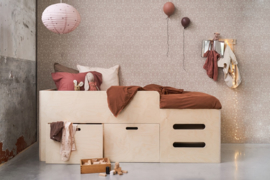 LITTLE DREAMERS BED RIVA HALFHOOGSLAPER 200 x 90 CM