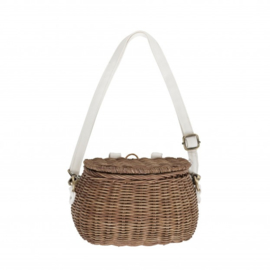 OLLI ELLA MINI CHARI BIKE BASKET NATURAL