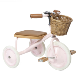 BANWOOD TRICYCLE DRIEWIELER ROZE