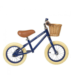 BANWOOD BALANCE BICYCLE FIRST GO NAVY