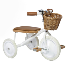 BANWOOD TRICYCLE DRIEWIELER WIT