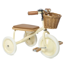 BANWOOD TRICYCLE DRIEWIELER CREAM