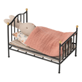 MAILEG MICRO VINTAGE BED ANTRACIET