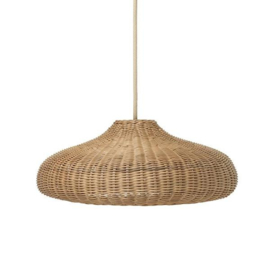 FERM LIVING BRAIDED LAMPSHADE GEVLOCHTEN ROTAN LAMP