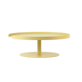 DESIGNBITE BIG HUG CAKE STAND  1 LEVEL LEMON
