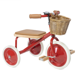 BANWOOD TRICYCLE DRIEWIELER ROOD