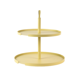 DESIGNBITE BIG HUG CAKE STAND  2 LEVELS LEMON