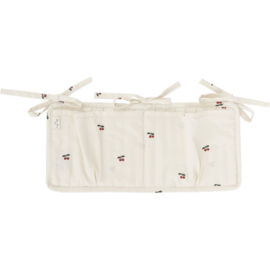 KONGES SLOJD QUILTED BED POCKETS CHERRY