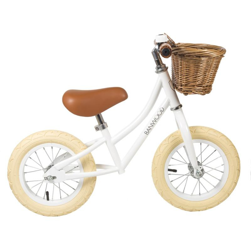 BANWOOD  LOOPFIETS FIRST GO WIT WHITE