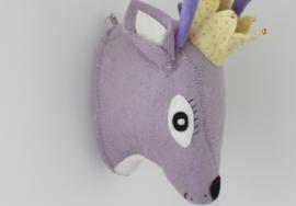 Gamcha - Wall Trofee Deer Purple