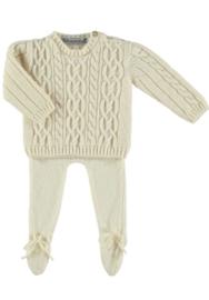 Normandie - Merino Wool Pullover Creme