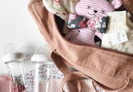 Ma Premiere Box - Diaper Bag Old Rose My Little Girl