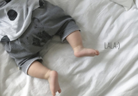 Lala - Animal Pants Grey