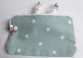 Étoffe Toiletrybags - Stars Toiletbag Stars & Charms Blue