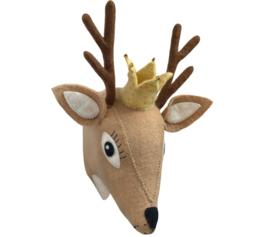 Gamcha - Wall Trofee Deer Beige