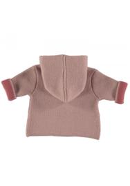 Normandie - Merino Wool Cardigan Rosa