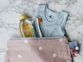 Étoffe Toiletrybags - Stars Toiletbag Stars & Charms Pink