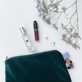 Étoffe Toiletrybags - Toiletbag Velvet & Charms