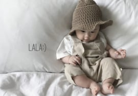 Lala - Peekaboo Suit Beige