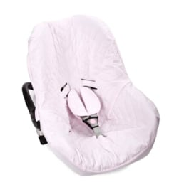 Poetree Kids - Maxi cosi Autostoelhoes Oxford Soft Pink