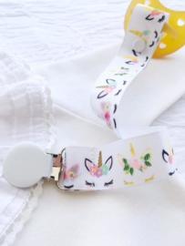 Chica Melancia - Handmade Pacifier Holder Unicorn