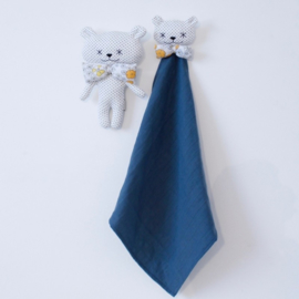 Ma Première Box - Doudou Swaddle Blue Grey