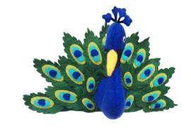 Gamcha - Wall Trofee Peacock
