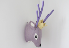 Gamcha - Wall Trofee Deer Purple